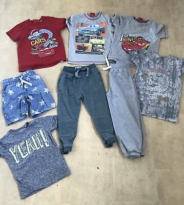 Boys Cothes Bundle Age 4-5 5-6 Years Jogging Bottoms