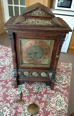 Antique Clock with key (maker unknown)