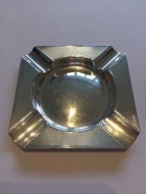 Art Deco Sterling Silver Ash Tray