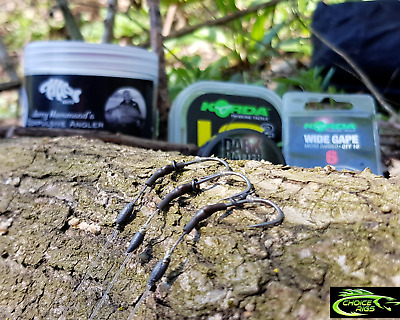"""""""THE DARK MATTER COMBI RIG x3"""" IQ2 / KORDA BOOM / MOUTH TRAP BOOM SECTION"""
