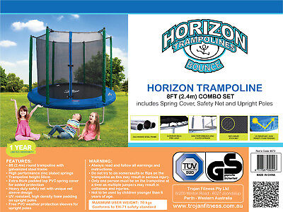 Trampoline CLEARANCE 8 FT 10 FT 12 FT Crazy Special Deals Beat The Xmas Rush !