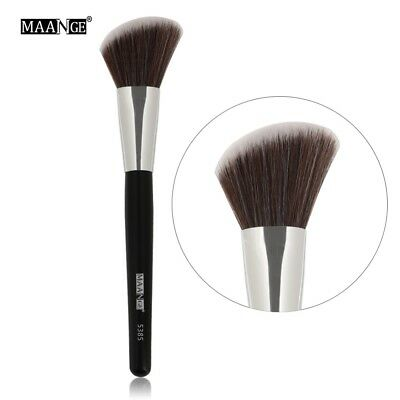 1Pcs Big Angled Tip Blush Makeup Brush Loose Powder Foundation Contour Blusher