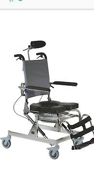 RAZ-AT Rehab Shower and Commode Chair with Tilt - Used Excellent Condition