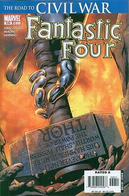 Fantastic Four (1998 3rd Series) #536A - The Road to CIVIL WAR May 2006