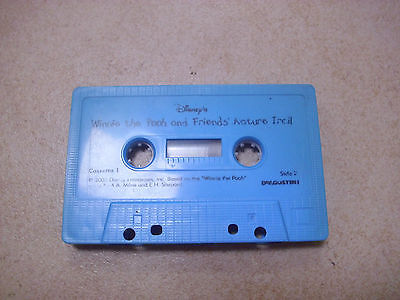 WINNIE THE POOH AND FRIENDS NATURE TRAIL audio cassette story