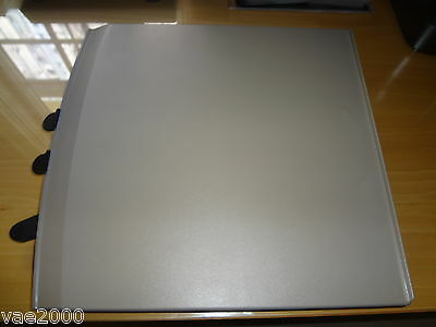 Gray plastic movable X-Y table by VTEK/TeleSensory for older RB-1, AL-1, GE-1