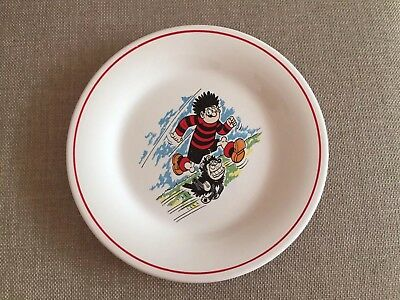 DENNIS THE MENACE and GNASHER PLATE
