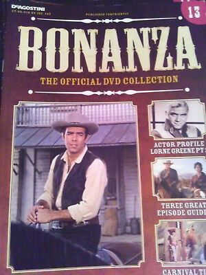 Bonanza DVD magazine guide  issue 13