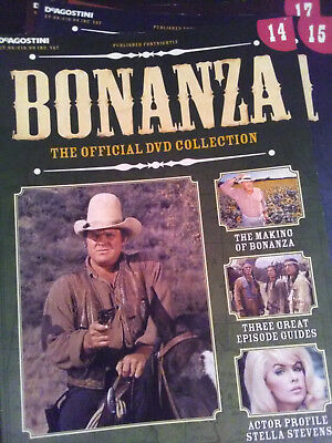Bonanza DVD magazine guide issue 14