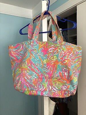 Lilly Pulitzer Scuba To Cuba Beach Tote