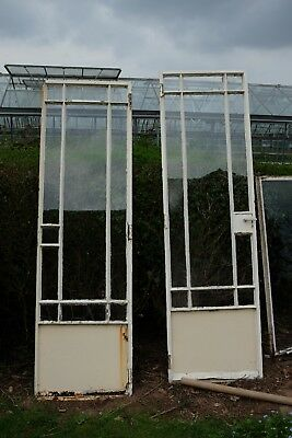 1920's Cast Iron Conservatory Doors (Possibly Crittall)