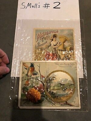 Lot of 1800's Victorian Advertising Cards Minneapolis Twine Binder Women