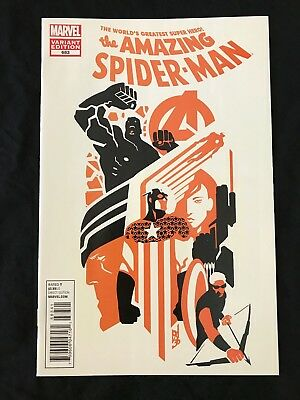Marvel Comics Amazing Spider-Man 683 Michael Del Mundo Art Appreciation Variant
