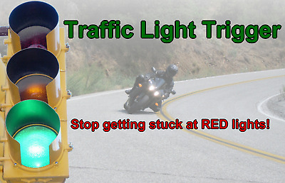 RED LIGHT CHANGER Trigger Traffic Signal, Fits All Motorcycles