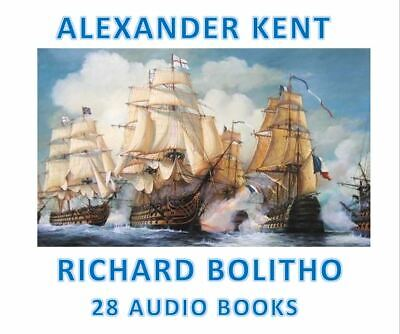 Alexander Kent 27 Audio Book Collection Richard Bolitho  2 x DATA DVD's MP's