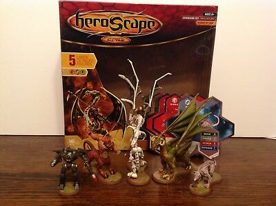 Heroscape Orm's Return Heroes of Laur Expansion 100% Complete with box