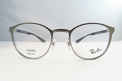 3873b851b3 RAY-BAN SILVER GLASSES New with case RB 6355 2620 50mm -  55.35 ...