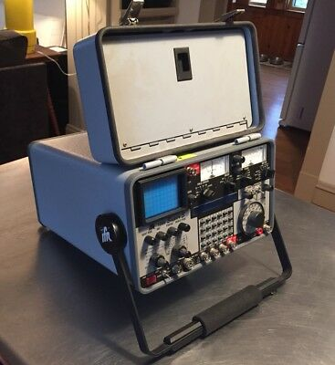 IFR 1200 Super S Communications Service Monitor Analyzer w/ Case+ - Powers On