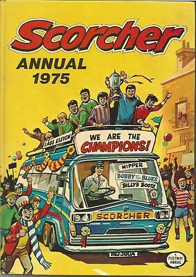 Scorcher Annual 1975 Spine Intact Not Price Clipped No Writing Billy's Boots HSH
