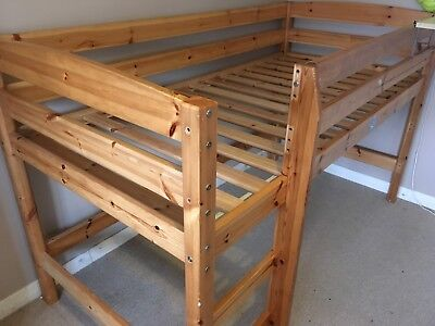 Solid Pine HIGH SLEEPER Bunk Bed