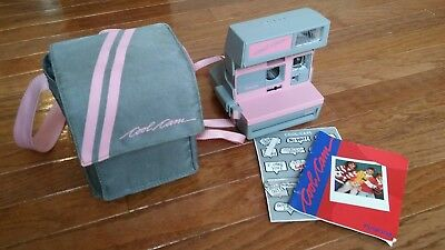 Polaroid Pink & Grey Cool Cam with Case