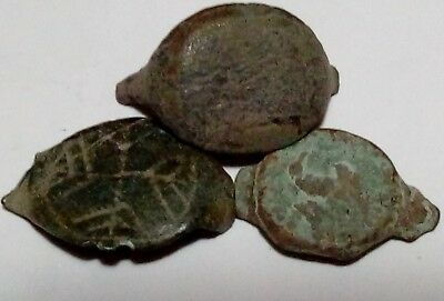 Lot Of 3 Roman Ring Tops