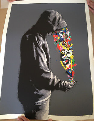 """Martin Whatson """"Connection"""" Signed & Numbered Sold Out Limited Edition"""