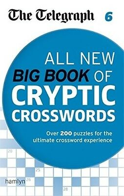 New, The Telegraph: All New Big Book of Cryptic Crosswords 6 (The Telegraph Puzz