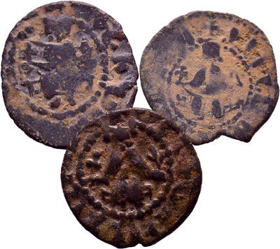 Cilician Armenia. Lot of 3 Selected good quality Poghs