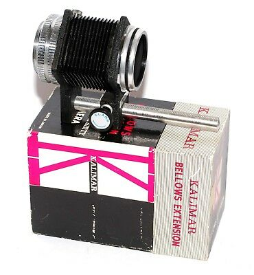 Kalimar Bellows For Six Sixty Medium Format Camera Adaptable  Not A Common Item
