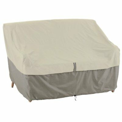 55-263-030110-00 belltown outdoor patio sofa/loveseat cover, grey, small
