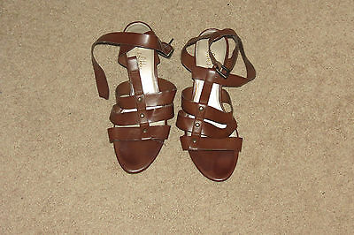 Lot of two (2) Sam & Libby womens shoes size 8.5 black boots & brown flats