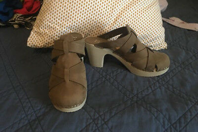 Clogs, Balou from Stockholm, Taupe, size 38