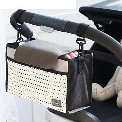 New Cup stripe bag Baby Stroller Organizer Baby Carriage Pram Buggy Cart Bottle
