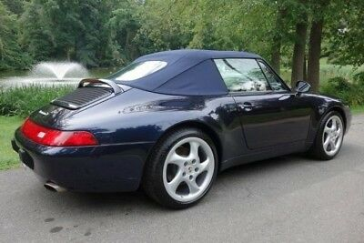 1996 Porsche 911 993 Carrera Cabriolet 3.6L - NO RESERVE Timeless Elegance & Muscle All in One Package! LOW original mileage+48,749 miles
