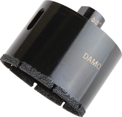 "DAMO 3"" Dry/Wet Diamond Core Drill Bit for Concrete/Granite/Marble Hole Saw"