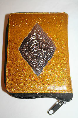 Holy Quran Quraan Koran Pocket Size Muslim Islamic Gift in Zipper Case
