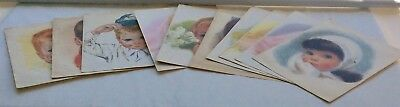 Vintage NORTHERN PAPER MILLS Prints Lot of 10 11X14 Girls Boys