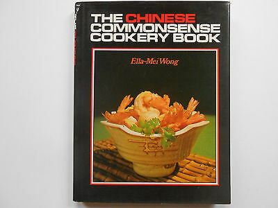 ##THE COMMONSENSE CHINESE COOKERY BOOK - ELLA-MEI WONG - free postage