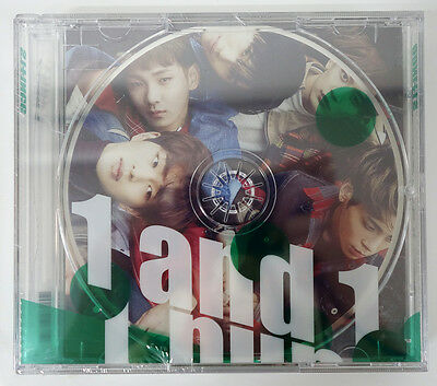SHINee - 1 and 1 (Vol.5 Repackage) 2CD+Photobook+Extra Gift Photocard Set