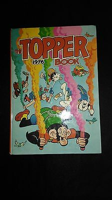 The Topper 1976 Vintage Annual Comic Hardback Book