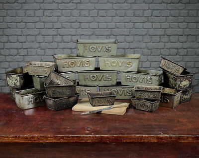 Collection Of 22 Vintage Hovis Tins.