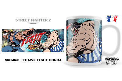 Street Fighter Thawk Fight Honda Ceramic Mug Tasse NEKOWEAR