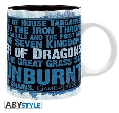 Game Of Thrones Khaleesi Mother Of The Dragons Mug Tasse ABYSTYLE