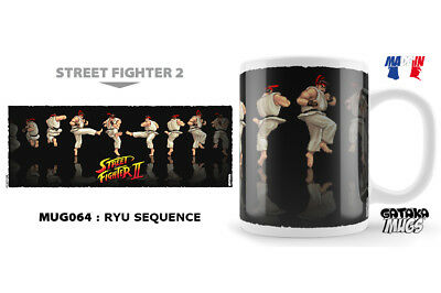 Street Fighter Ryu Sequence Ceramic Mug Tasse NEKOWEAR