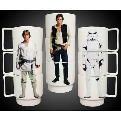 Star Wars Stacking Ceramic Mug Tasses Set 3 pcs UNDERGROUND TOYS