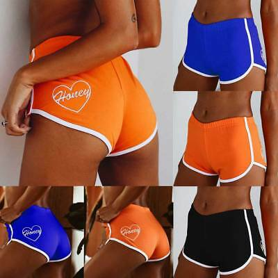 Women Sports Shorts Casual Ladies Beach Summer Running Gym Yoga Hot Pants UK