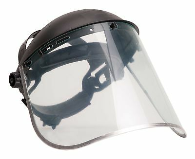 Portwest Face Shield Plus Bodyguard Safety Protection Visor Aluminium Work PW96