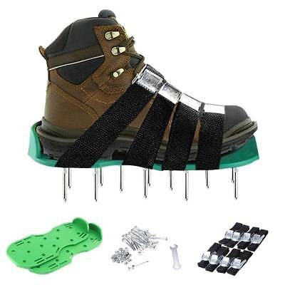 Lawn Aerator Sandals / Aerating Spikes Heavy Duty Spiked Shoes W 8 Straps