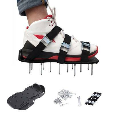Lawn Aerator Sandals / Aerating Spikes Heavy Duty Spiked Shoes W 6 Straps